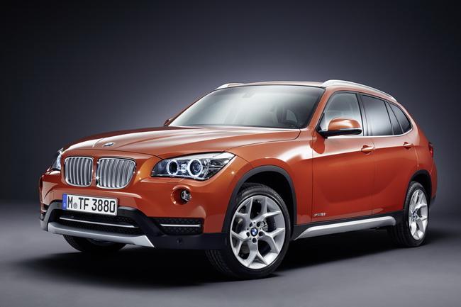 На автосалоне в Нью-Йорке BMW представили новый BMW X1
