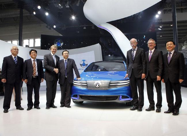 Auto China 2012: представлен неожиданный концепт Denza EV