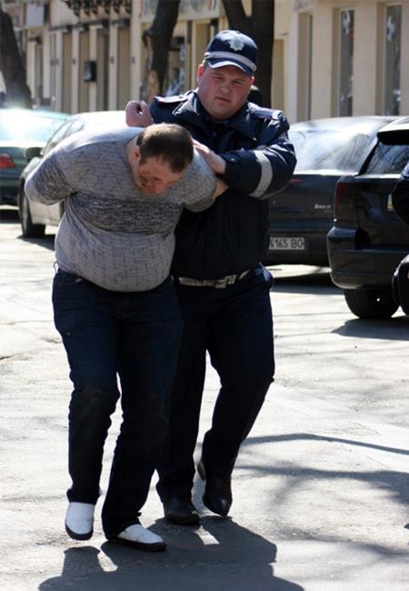 задержание преступников ГАИ Одессы