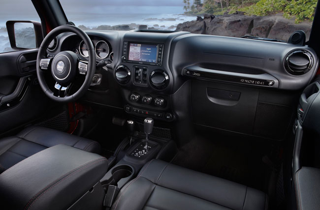 Представлена специальная серия Jeep Wrangler Unlimited Altitude