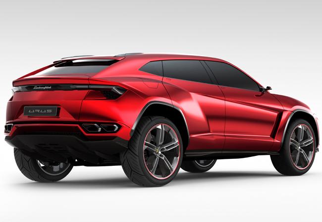 Пекинский автосалон 2012: Lamborghini Urus