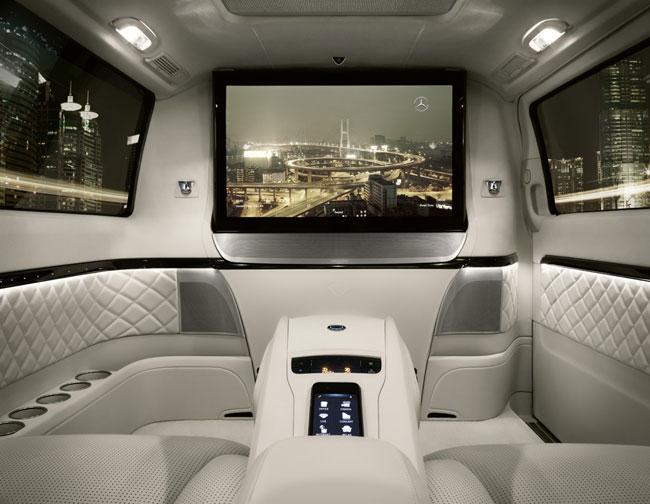 Пекинский автосалон 2012: Mercedes Viano Vision Diamond может стать Maybach для китайцев
