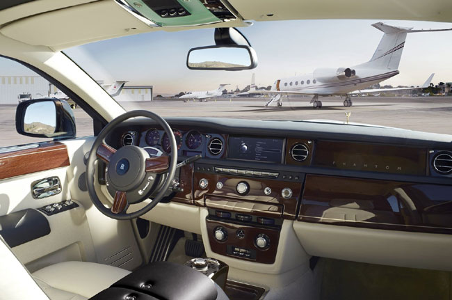 Обновленный Rolls-Royce Phantom Extended Wheelbase Series II