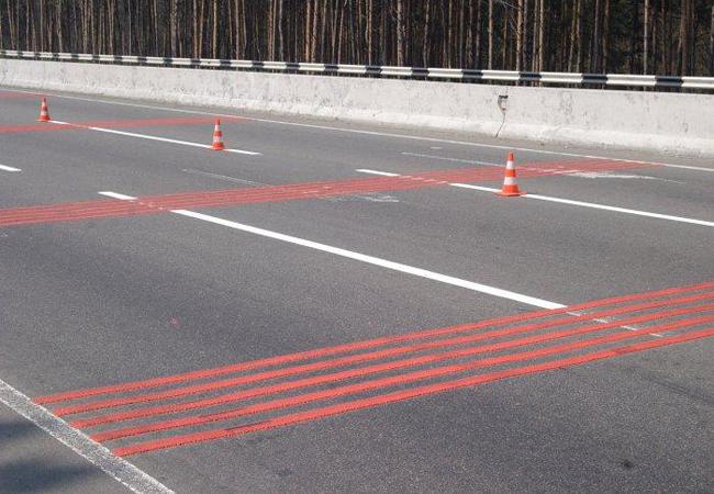 цвета дорожной разметки