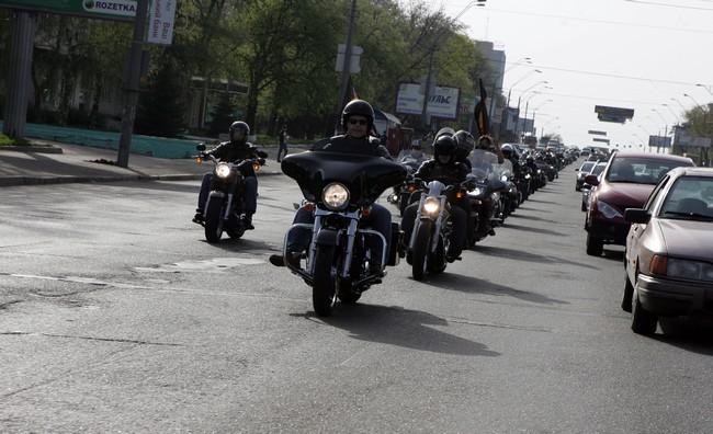 Открытие Байкерского Сезона Harley-Davidson 2013.