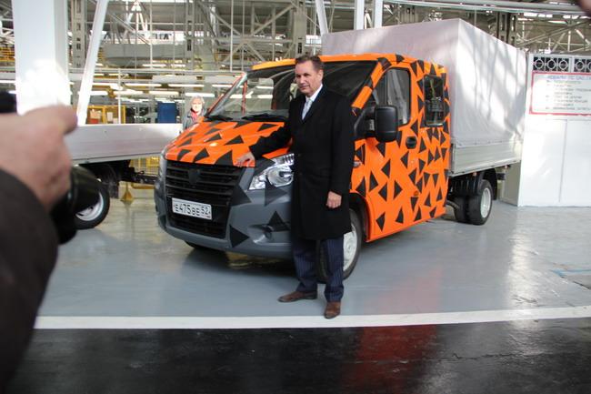 Новая модель ГАЗа и Бу Андерссон