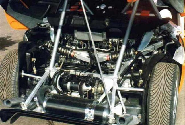 Спорткар ZAZ Forza 55 El Motors Edition