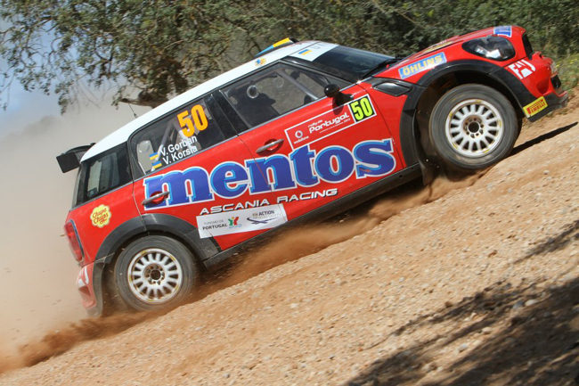 Украинцы в WRC: Mentos дебютировал на Mini Cooper RRC