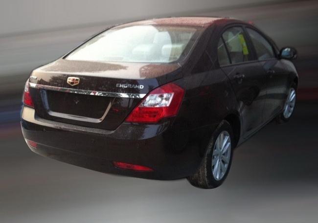 На Пекинском автосалоне будет представлена новая версия седана Emgrand 7