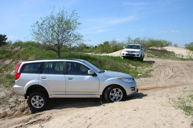 Сравнительный тест Great Wall H5 & Mitsubishi Pajero Sport