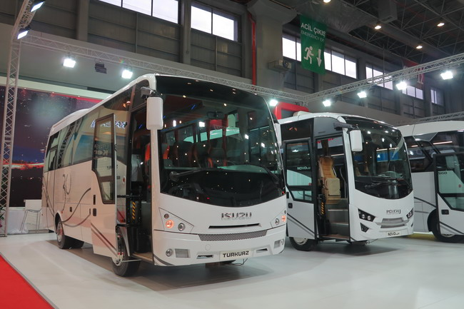 автобусы Isuzu
