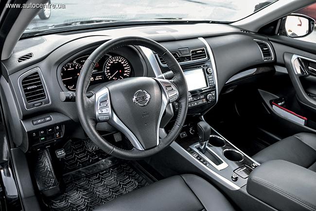 Тест-драйв Nissan Teana