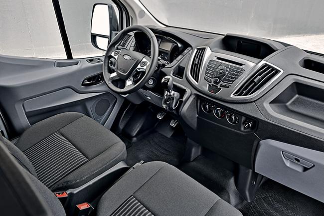 Тест-драйв Ford Transit