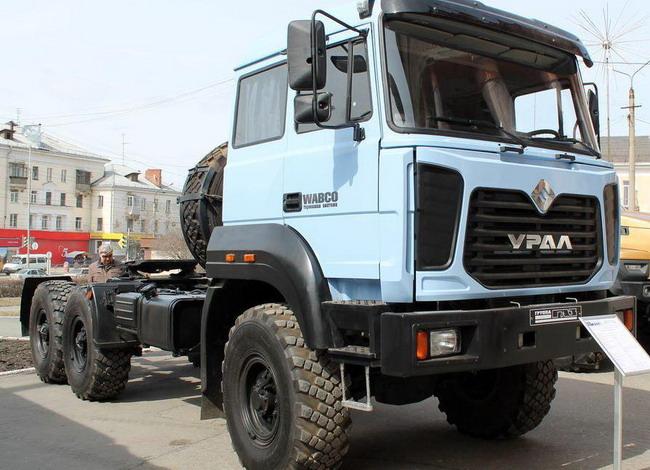 Перспективный грузовик «Урал»