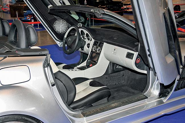 Тюнинг Mercedes-Benz SLK