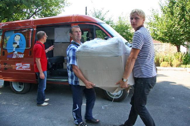 Колонна автопробега «АИС-детям» побывала в Вознесенске