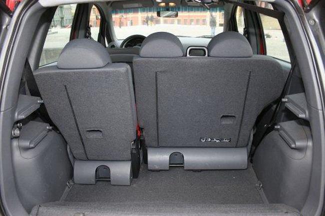 задние сиденья Mitsubishi Colt седьмого поколения