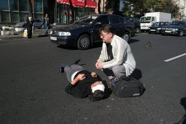 ГАИ  проводит операцию «Пешеход»