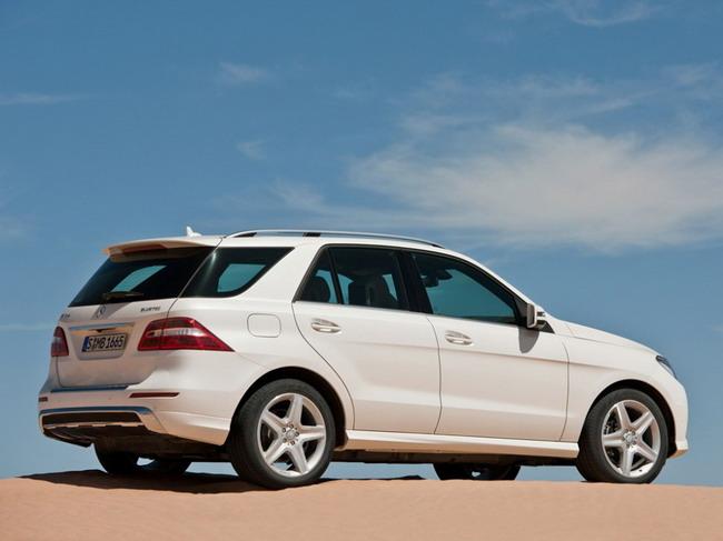 Столичное автошоу 2011: презентация Mercedes-Benz ML