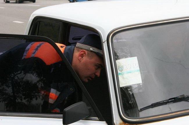 ГАИ задержала водителя наркомана