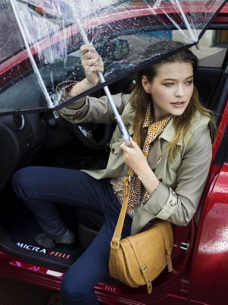 Новый Nissan Micra от Elle
