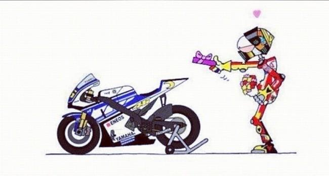 Валентино Росси возвращается в Yamaha