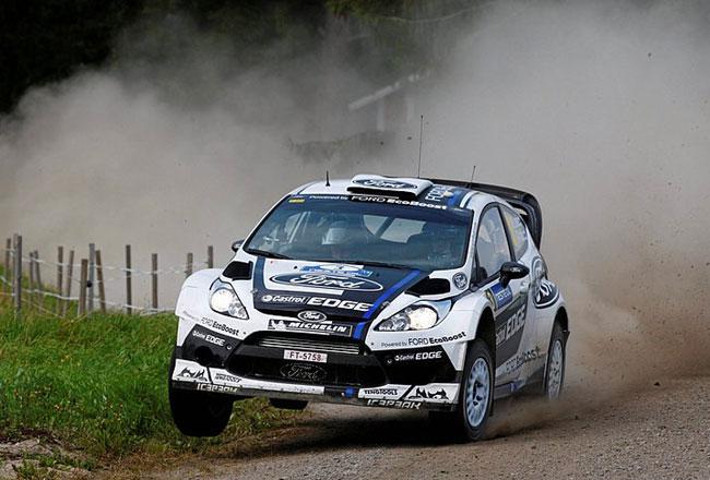 Ford на Ралли Финляндии