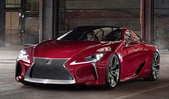 Компания Toyota представит еще один концепт Lexus LF-LC