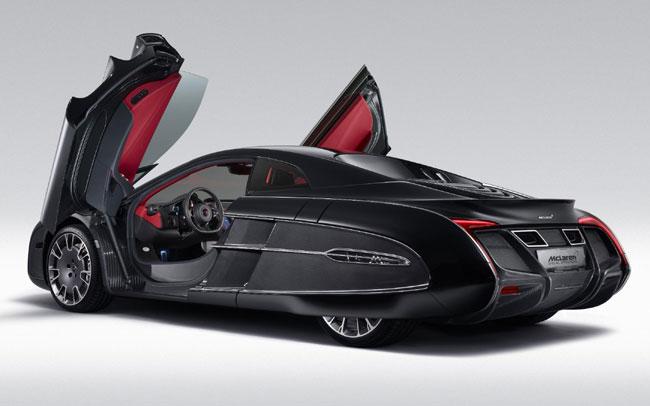 Представлен уникальный McLaren X1