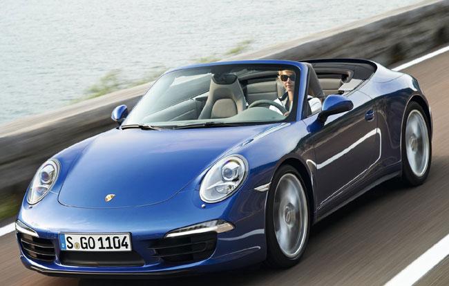 Представлены полноприводные Porsche 911 Carrera 4