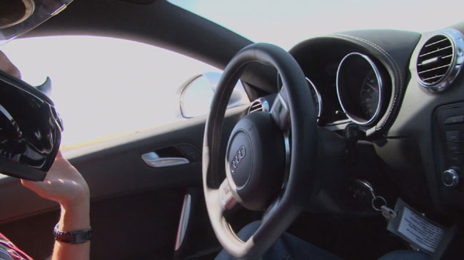 Автомобиль-робот Audi TTS