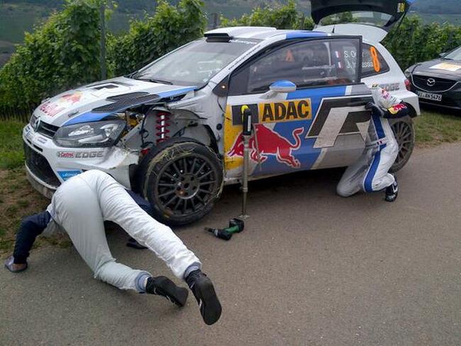 победа Даниэля Сордо в WRC