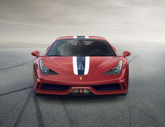 Показ Ferrari 458 Speciale состоится во Франкфурте
