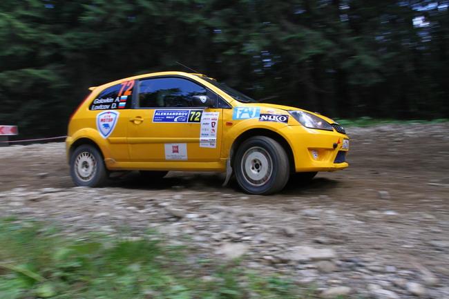 Александр Салюк выиграл объединенный этап Чемпионата Украины и России - Александров Ралли