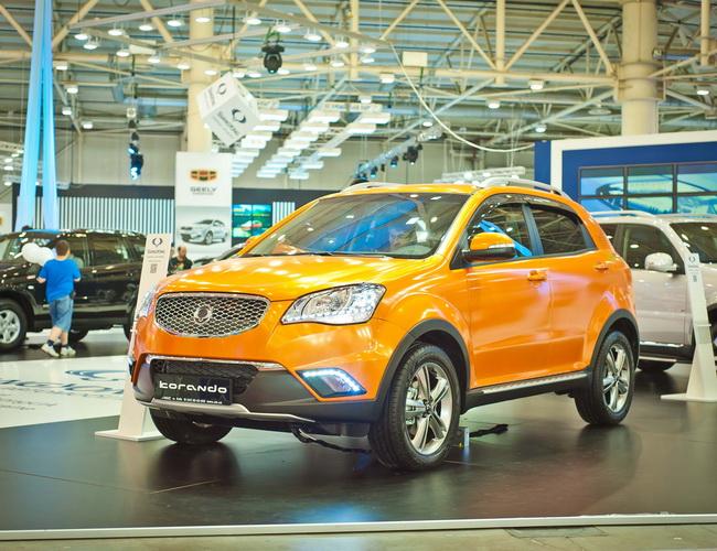 Мировые продажи  автомобилей SsangYong увеличились