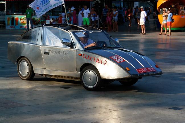 самодельные электромобили