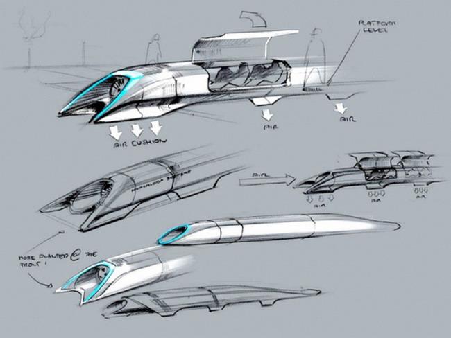 Скоростной транспорт Hyperloop