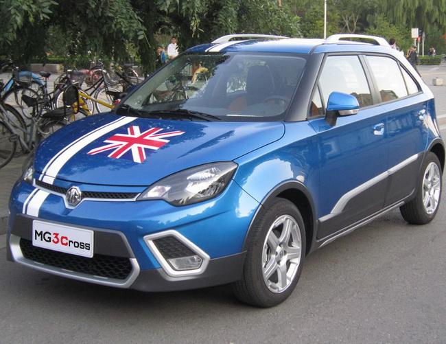 Рост продаж автомобилей MG