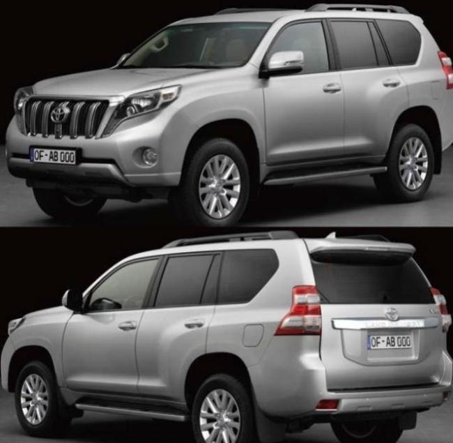 Новый Toyota Land Cruiser Prado