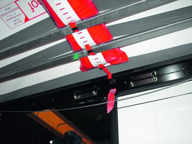 система RoofSafetyAirBag (RSAB)