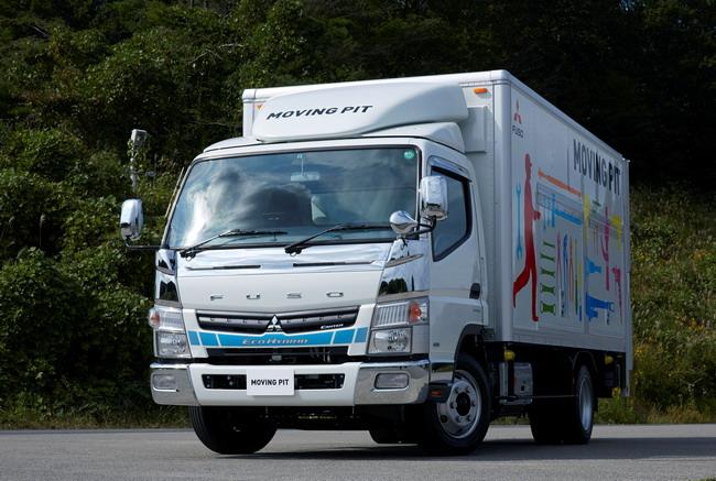 Среднетоннажный грузовик Fuso Canter