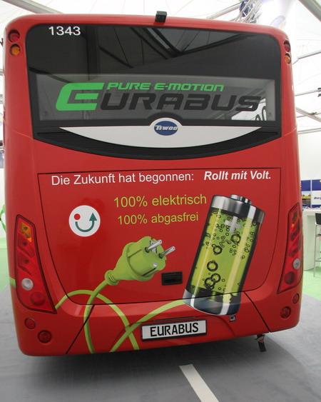 электробус второго поколения Eurabus 2.0