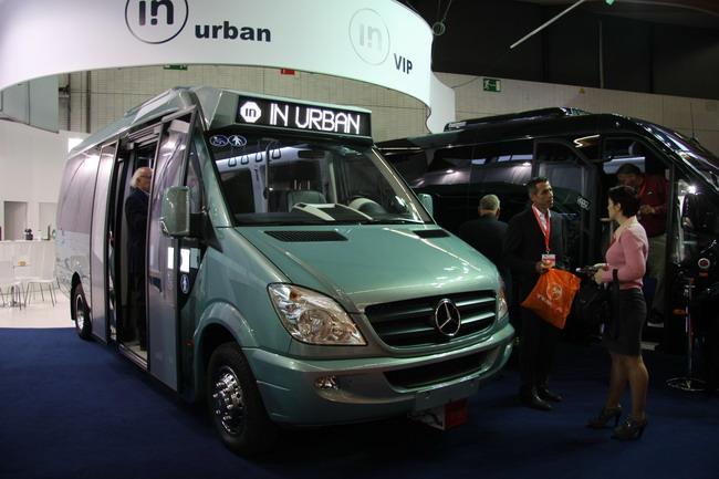 Автобусы Integralia на шасси Mercedes-Benz Sprinter