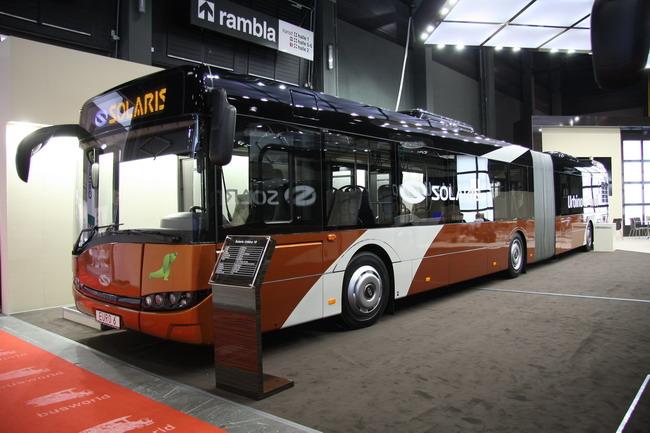 18-метровый городской автобус Urbino 18