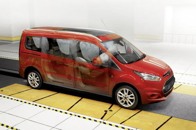 краш-тест Ford Tourneo Connect