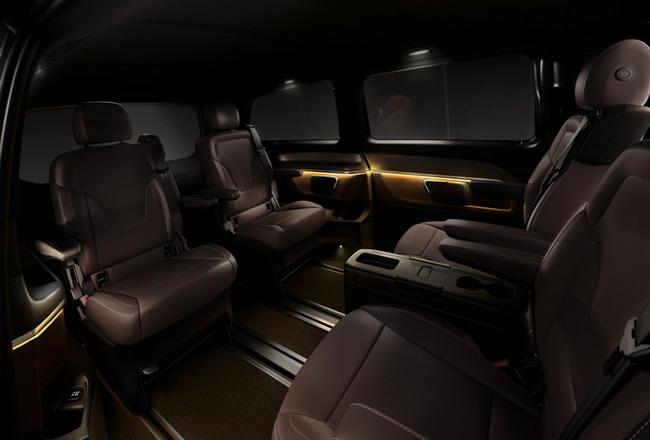 Новый Mercedes-Benz V-класс