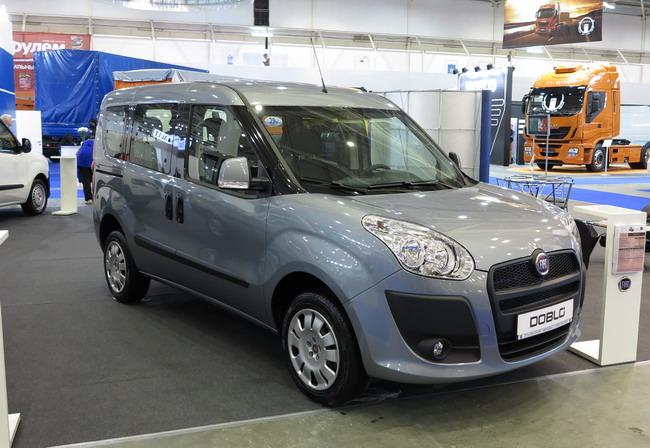 Tir 2012: коммерческие автомобили fiat