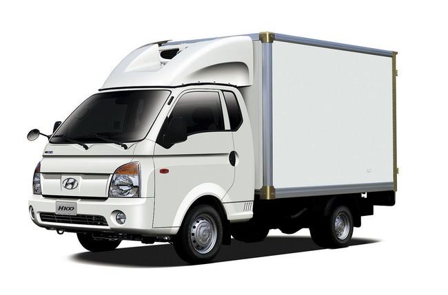 Коммерческие автомобили Hyundai: H100