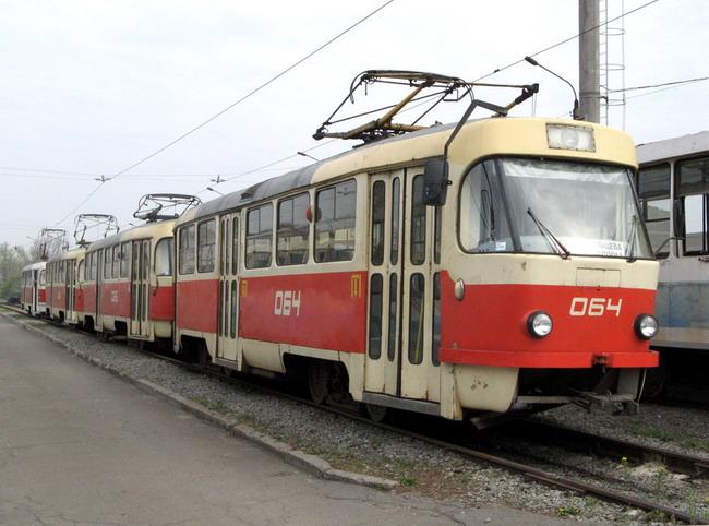 Общественный транспорт Киева в новогоднюю ночь