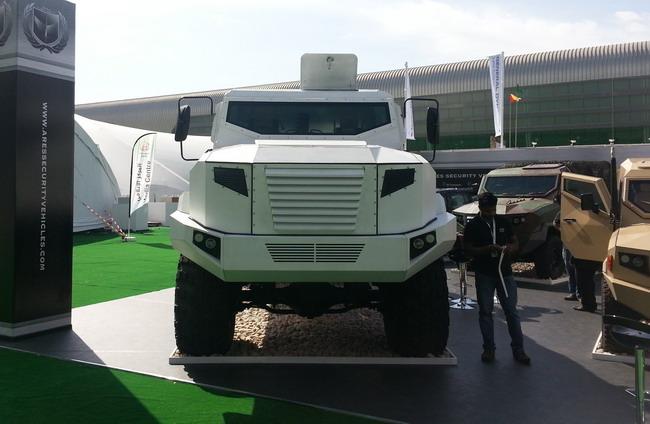 IDEX-2013: украинский бронетранспортер KRAZ-ASV